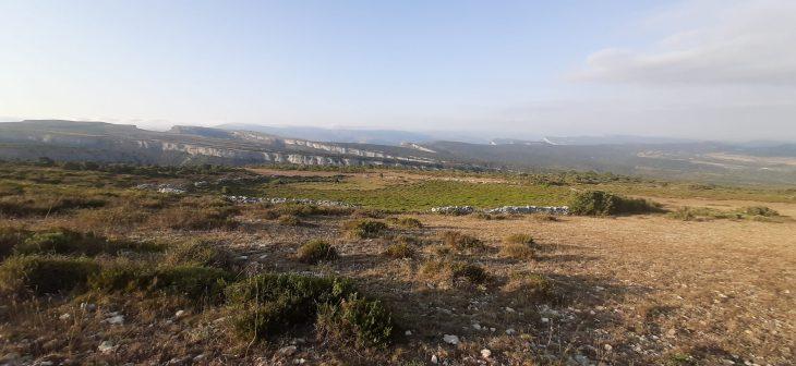 Cerco de piedra y los montes de Dulla