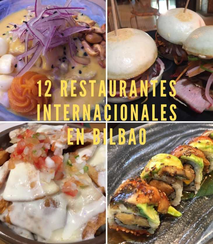 12 Restaurantes internacionales de moda en Bilbao