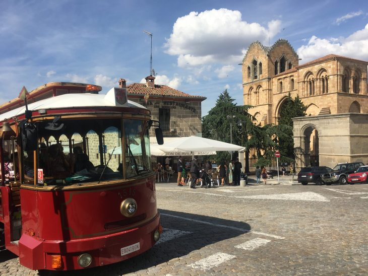 Tranvía turístico de Ávila