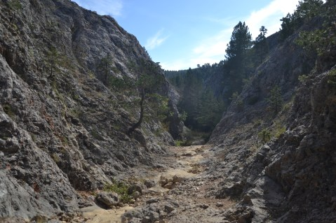 Cauce seco del río Júcar