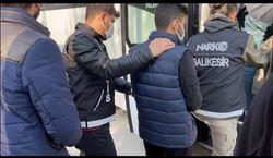 Balıkesir´de uyuşturucu operasyonu: 3 kişi tutuklandı