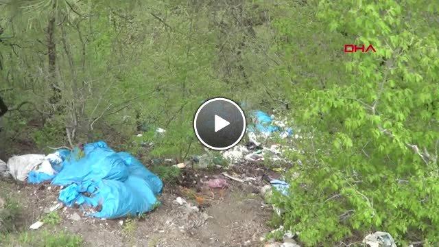 Kahramanmaraş Ormanlık Alandaki Çöp Yığını Tepki Çekti