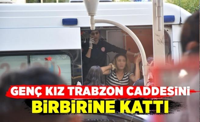 Trabzon Caddesinde gergin anlar