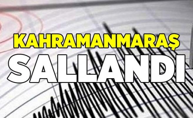 Kahramanmaraş'ta korkutan deprem! 19 Temmuz 2019