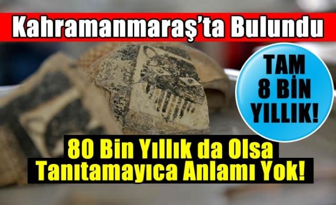 Kahramanmaraş'ta 8 bin yıllık leopar maskesi bulundu