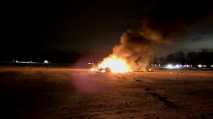 Bağdat'taki havalimanına saldırı