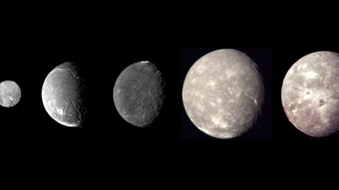 'Uranüs'ün uydularında dev okyanuslar olabilir'