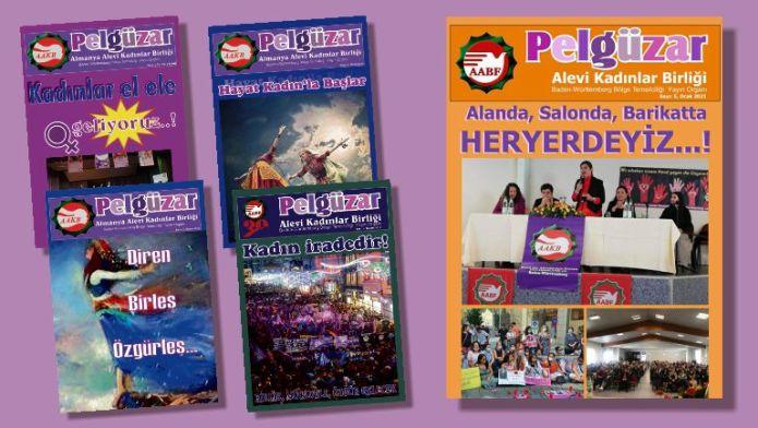 Alevi kadın dergisi Pelgüzar'ın 5. sayısı çıktı: Pelgüzar'a nefes olalım