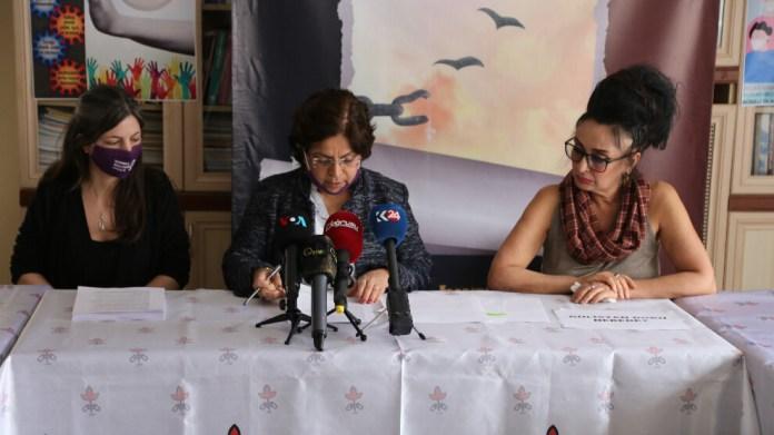 Bir yılda 1075 kadın şiddet nedeniyle İHD'ye başvurdu
