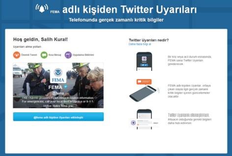 Twitter-Uyarilari