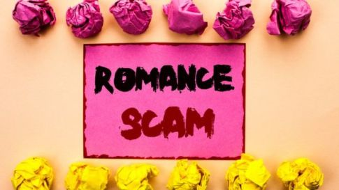 How a 419 and romance scam works