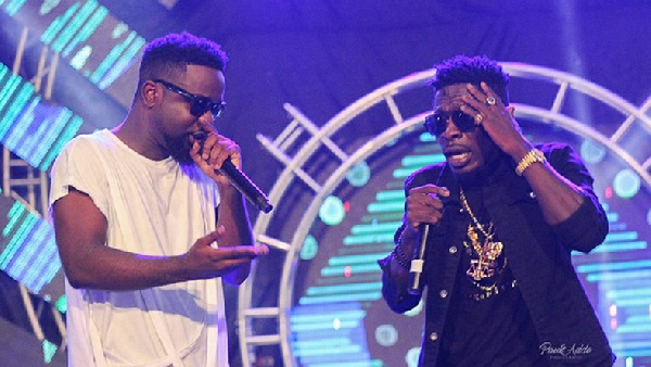 Sarkodie reunites with Shatta Wale on his birthday