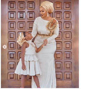 Cute Eid Images Of Hajia 4 Real And Daughter