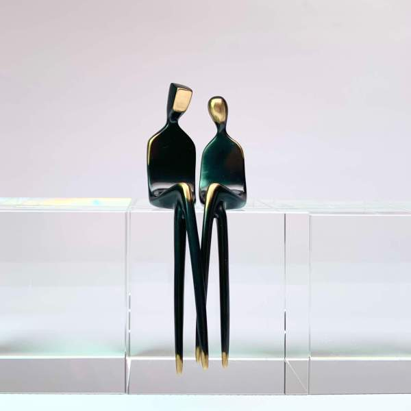 The Two of Us, bronze sculpture