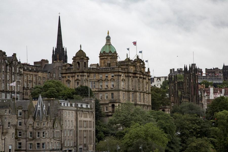 Edinburgh - Capital of Scotland since the 15th century.