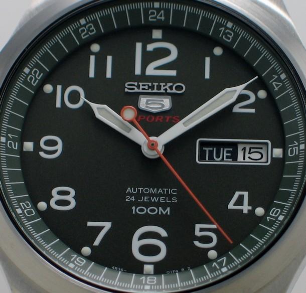 4R36 Seiko 5 Military - SRP275K (2/6)