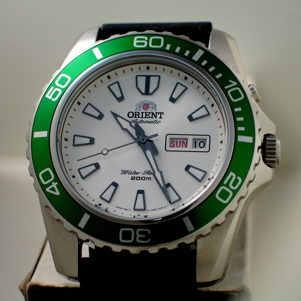 Recent Purchase Orient Mako XL EM75006W Yeomans