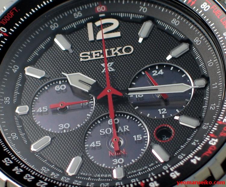 Seiko Prospex Solar Chronograph - SSC261P (4/6)