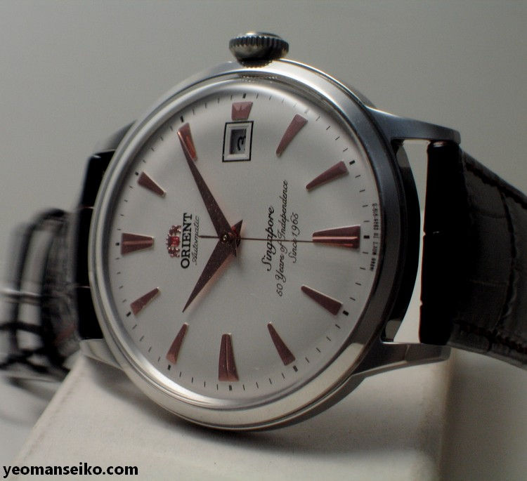 A Pair of SG50 Limited Edition Orient Bambinos by Big Time (4/6)