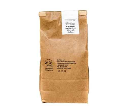 Premium Organic Yerba Mate - Back - Yerba Montana