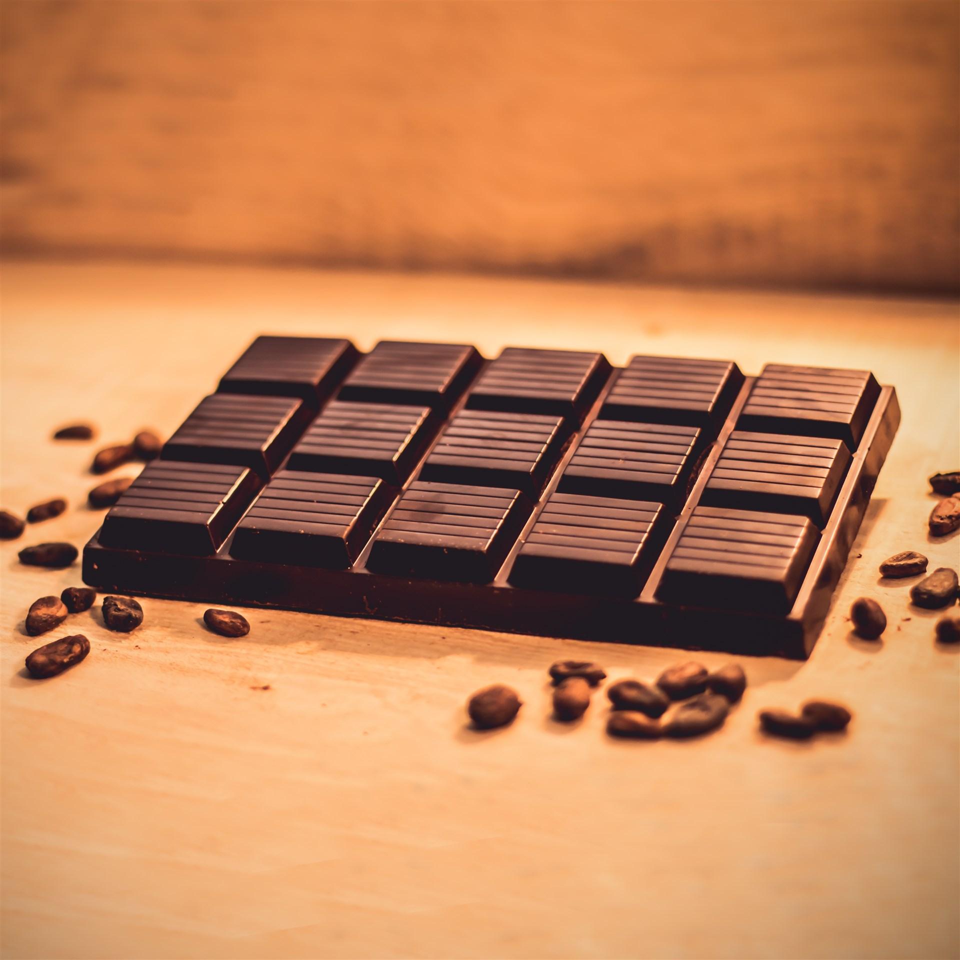 maxi tablette de chocolat a 75 de cacao pour patisserie et pour boisson 900g