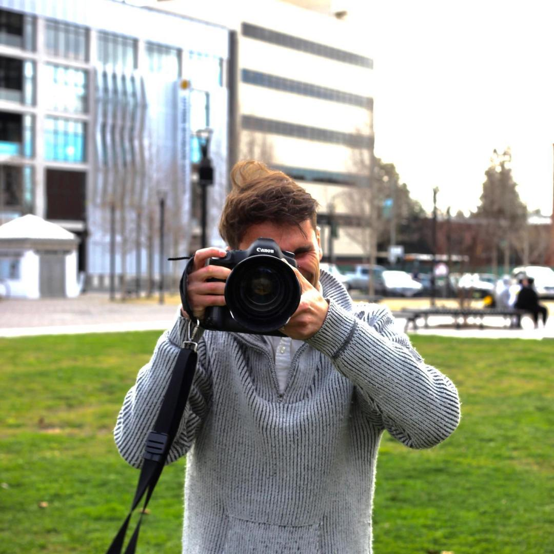 Doing a mini photoshoot with my brother. He ended up taking some of me too.