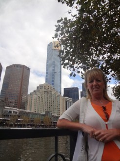 Gail with the Eureka Tower