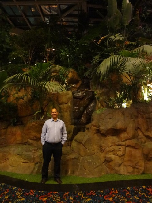 Me at the edge of the Rain Forest.