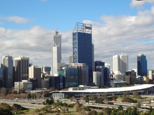 Perth CBD from Kings Park
