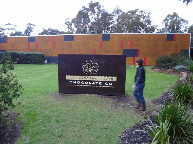 Outside Margaret River Chocolate Factory