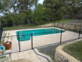 Pool at the back