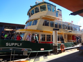 Our ferry boat from Circular Quay to Taronga Zoo