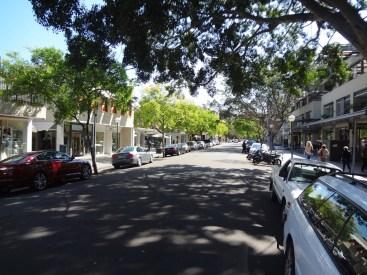 Double bay High Street.