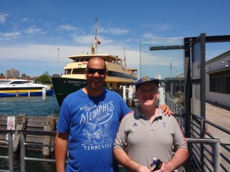 Donald and myself at Manly
