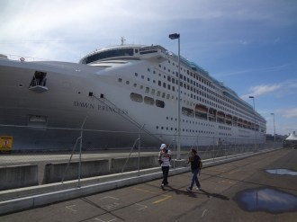 Another cruise ship