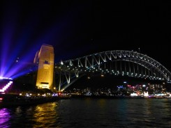 The Harbour Bridge from the boat.
