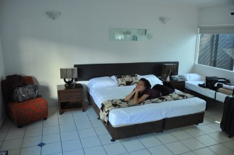 Our room in the Sarayi, Palm Cove