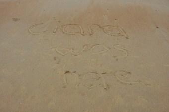 Ciara leaves her mark.