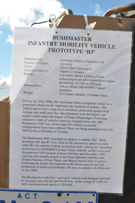 Bushmaster Details