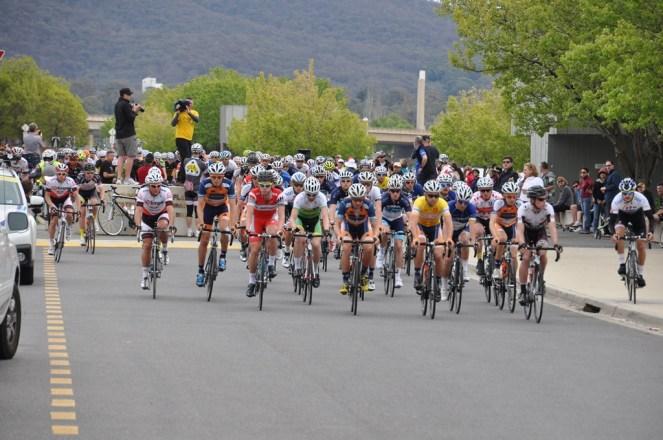 The start of the men's Road Race