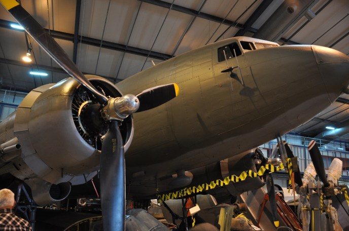 C-47 Douglas Transport Plane