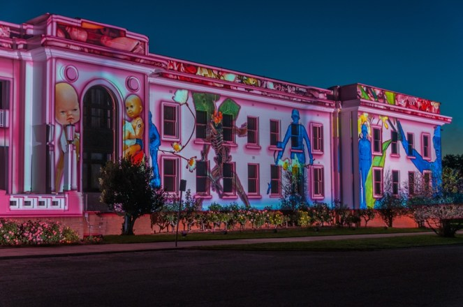 Old Parliament House gets the Enlighten treatment.