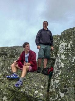 James and his son, Ronan
