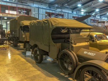These trucks are ready to go into the AWM itself