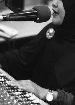 Gita, presenter Batam FM. Radio ini merupakan radio FM pertama di kawasan Batam, Singapura, Johor.