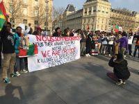 Global Solidarity Rally in Paris