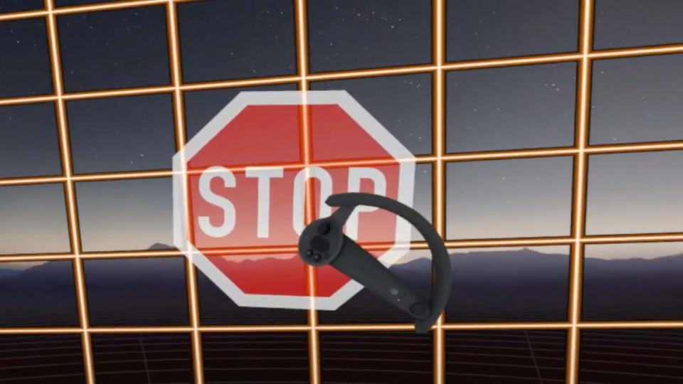 stop sign vr