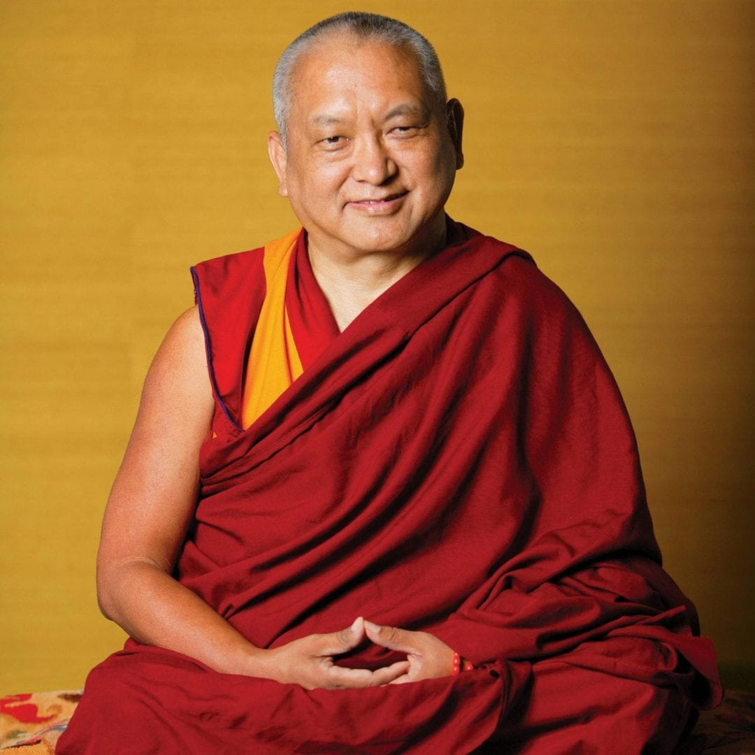 Venerable Lama Kyabje Thubten Zopa Rinpoche