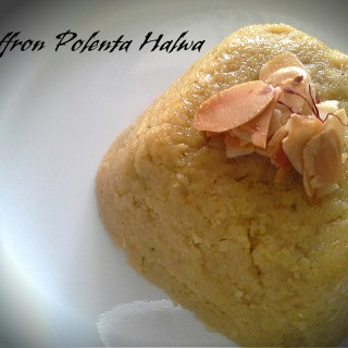 Saffron Infused Halva with Pistachios-Glutenfree & Vegan