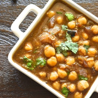Not your regular Channa Masala-An Authentic Punjabi Version